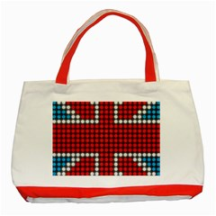 The Flag Of The Kingdom Of Great Britain Classic Tote Bag (Red)