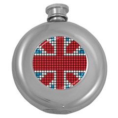 The Flag Of The Kingdom Of Great Britain Round Hip Flask (5 oz)