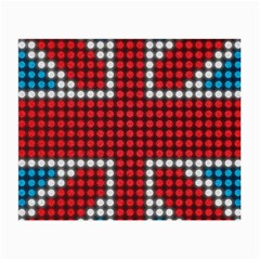 The Flag Of The Kingdom Of Great Britain Small Glasses Cloth (2-Side)