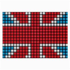 The Flag Of The Kingdom Of Great Britain Large Glasses Cloth (2-Side)