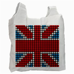 The Flag Of The Kingdom Of Great Britain Recycle Bag (One Side)