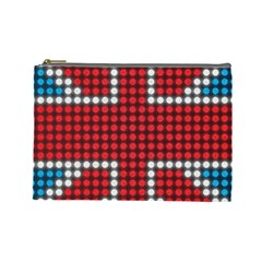 The Flag Of The Kingdom Of Great Britain Cosmetic Bag (Large)