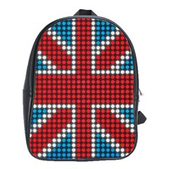 The Flag Of The Kingdom Of Great Britain School Bags(Large)
