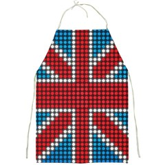 The Flag Of The Kingdom Of Great Britain Full Print Aprons