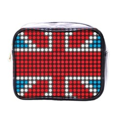 The Flag Of The Kingdom Of Great Britain Mini Toiletries Bags