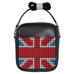 The Flag Of The Kingdom Of Great Britain Girls Sling Bags
