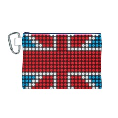 The Flag Of The Kingdom Of Great Britain Canvas Cosmetic Bag (M)
