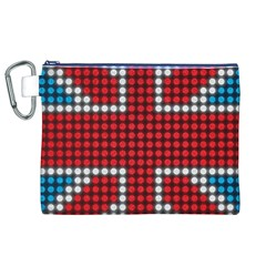 The Flag Of The Kingdom Of Great Britain Canvas Cosmetic Bag (XL)
