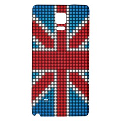 The Flag Of The Kingdom Of Great Britain Galaxy Note 4 Back Case