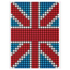 The Flag Of The Kingdom Of Great Britain Drawstring Bag (large)