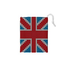 The Flag Of The Kingdom Of Great Britain Drawstring Pouches (XS)