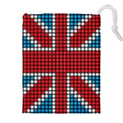 The Flag Of The Kingdom Of Great Britain Drawstring Pouches (XXL)