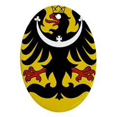 Silesia Coat of Arms  Ornament (Oval)