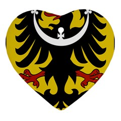Silesia Coat of Arms  Ornament (Heart)