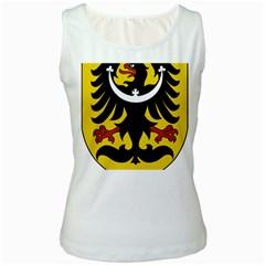 Silesia Coat of Arms  Women s White Tank Top