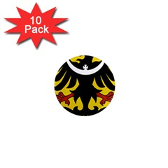 Silesia Coat of Arms  1  Mini Magnet (10 pack)