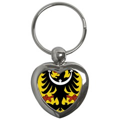 Silesia Coat of Arms  Key Chains (Heart)