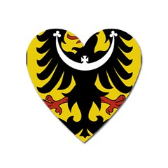 Silesia Coat of Arms  Heart Magnet