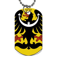 Silesia Coat of Arms  Dog Tag (One Side)