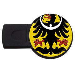 Silesia Coat of Arms  USB Flash Drive Round (2 GB)