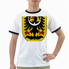 Silesia Coat of Arms  Ringer T-Shirts