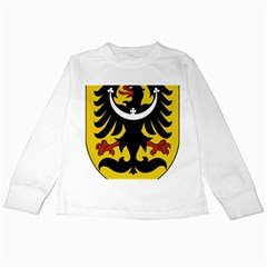Silesia Coat of Arms  Kids Long Sleeve T-Shirts