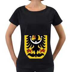 Silesia Coat of Arms  Women s Loose-Fit T-Shirt (Black)