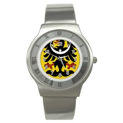 Silesia Coat of Arms  Stainless Steel Watch