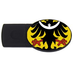 Silesia Coat of Arms  USB Flash Drive Oval (4 GB)