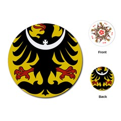 Silesia Coat of Arms  Playing Cards (Round)
