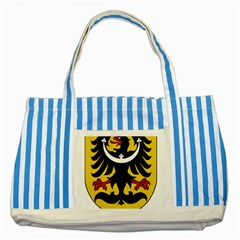 Silesia Coat of Arms  Striped Blue Tote Bag