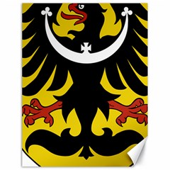 Silesia Coat of Arms  Canvas 18  x 24