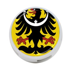 Silesia Coat of Arms  4-Port USB Hub (One Side)