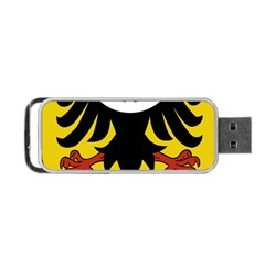 Silesia Coat of Arms  Portable USB Flash (One Side)