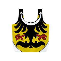 Silesia Coat of Arms  Full Print Recycle Bags (S)
