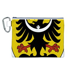 Silesia Coat of Arms  Canvas Cosmetic Bag (L)