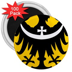 Silesia Coat of Arms  3  Magnets (100 pack)