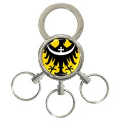 Silesia Coat of Arms  3-Ring Key Chains