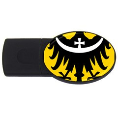Silesia Coat of Arms  USB Flash Drive Oval (1 GB)