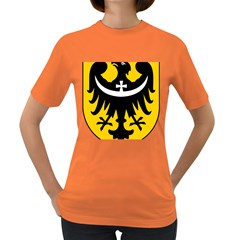 Silesia Coat of Arms  Women s Dark T-Shirt