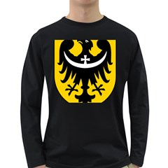 Silesia Coat of Arms  Long Sleeve Dark T-Shirts
