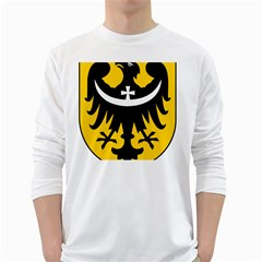 Silesia Coat of Arms  White Long Sleeve T-Shirts