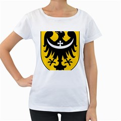 Silesia Coat of Arms  Women s Loose-Fit T-Shirt (White)