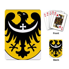 Silesia Coat of Arms  Playing Card