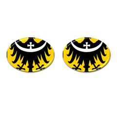 Silesia Coat of Arms  Cufflinks (Oval)