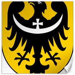 Silesia Coat of Arms  Canvas 16  x 16