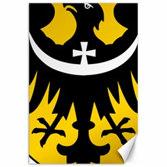 Silesia Coat of Arms  Canvas 20  x 30