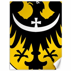 Silesia Coat of Arms  Canvas 36  x 48