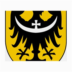 Silesia Coat of Arms  Small Glasses Cloth (2-Side)