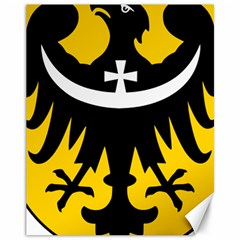 Silesia Coat of Arms  Canvas 11  x 14